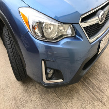 Front Bumper Damaged