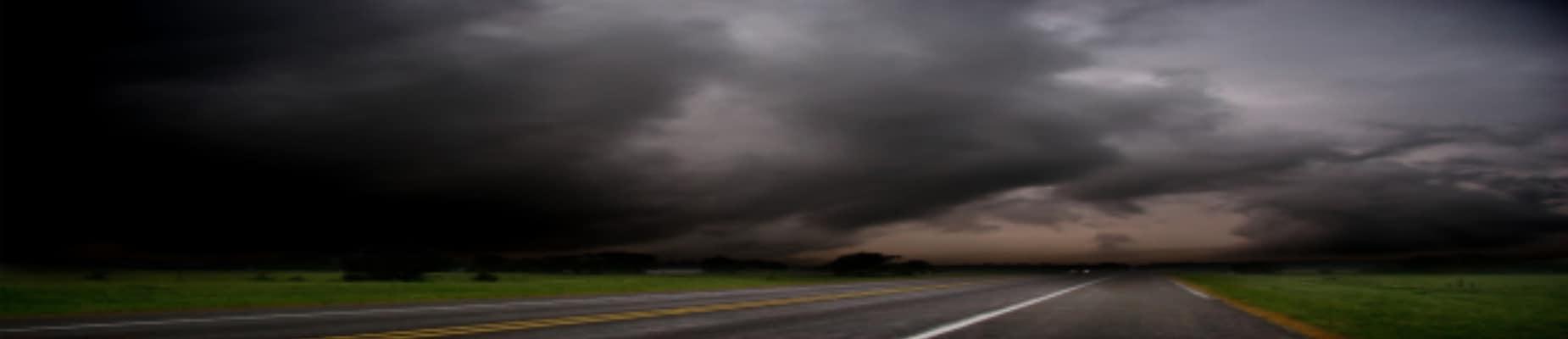 Hail Damage Storm Clouds